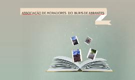 ASSOCIAÇÃO DOS MORADORES DO BURIS DE ABRANTES