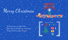 Copy of Free Christmas Prezi from Prezzip