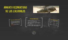 APARATO RESPIRATORIO DE LOS COCODRILOS