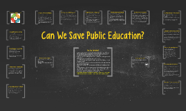 Can We Save Public Education?