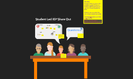 Student Led IEP Share Out