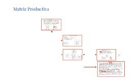 Matriz Productiva