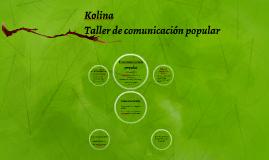 Taller de comunicación popular