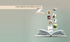 Copy of CARACTERÍSTICAS DEL LIDERAZGO EN LA BIBLIA