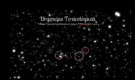 urgencias toxicologicas
