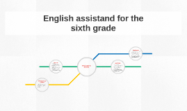 English assistand for the sixth grade