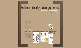 Política Fiscal y buen gobierno