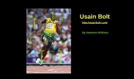 Usain Bolt - website analysis