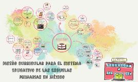 Diseño curricular para el sistema educativo de las escuelas