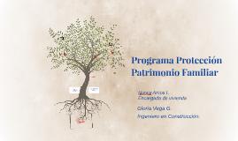Programa Protección Patrimonio Familiar