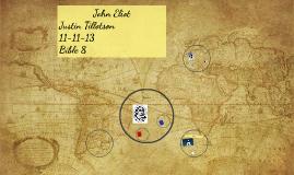 John Eliot's Journey
