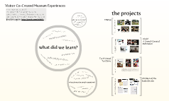 Visitor Co-Created Museum Experiences
