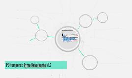 PD temporal: Pyme Revolvente v1.7