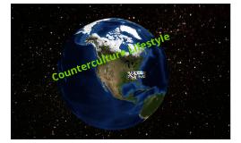 Counterculture Lifestyle