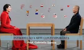INTRODUÇÃO A ARTE CONTEMPORÂNEA