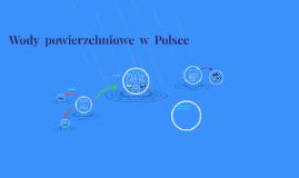 wody powierzchniowe  w  Polsce