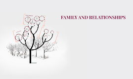FAMILY AND RELATIONSHIPS
