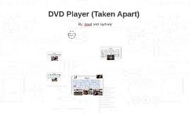 DVD Player (Taken Apart)