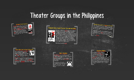 Copy of Theater Groups in the Philippines