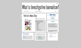 What is Investagative Journalism?