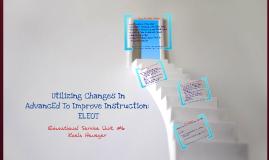 Copy of AdvancED Changes ELEOT