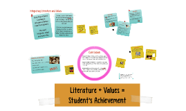 Benefits of Integrating Literature and Values