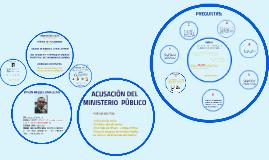 Copy of ACUSACION DEL  MINISTERIO  PUBLICO POR  LOS  DELITOS DE: