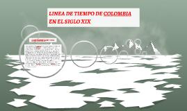 LINEA DE TIEMPO DE COLOMBIA