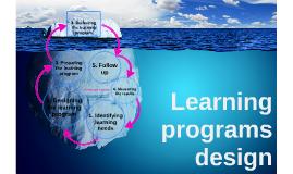 Learning programs design