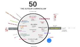 The Auteur Curriculum