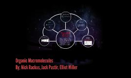 Organic Macromolecules
