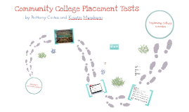 Community College Placement Tests