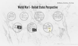 World War I - United States