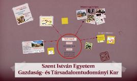 Copy of Szent István Egyetem