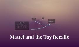 Mattel Toy Recalls