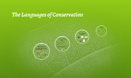 The Languages of Conservation