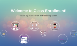 Copy of Copy of Class Enrollement