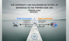 State Succession and State Continuity
