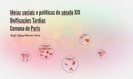 Ideias sociais e políticas do século XIX