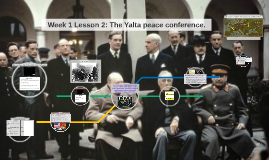 Week 1 Lesson 2: The Yalta peace conference