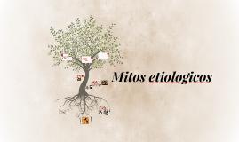 Mitos etiologicos ejemplos yahoo dating