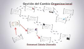 Copy of Gestión del Cambio Organizacional