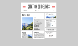 CITATION GUIDELINES
