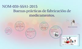 NOM-059-SSA1-2015