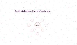 Actividades Económicas.
