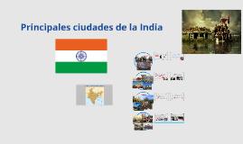 Principales ciudades de la India