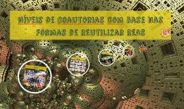 Níveis de Coautorias com base nas Formas de Reutilizar REAS