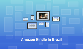 Amazon Kindle Now in Brazil