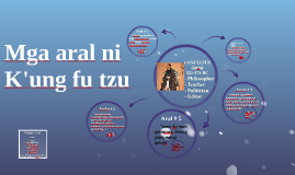 Copy of mga aral ni kung fu tzu