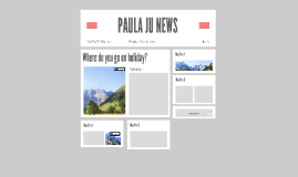 PAULA JU NEWS